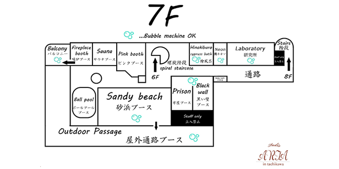 7F間取り図