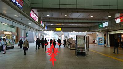 立川駅改札を出ましたら南口を目指してください。