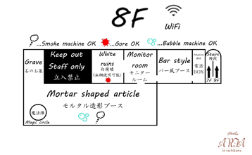 8F 間取り図
